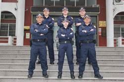新式警察制服 平鎮警壓力測試「沒問題」