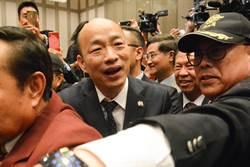 韓國瑜人氣高主因 洪孟楷:一堆人搶伸臉給他打