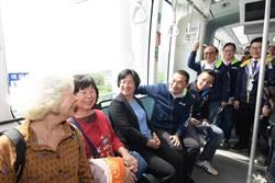 王惠美赴新北拜會侯友宜 參訪取經淡海輕軌
