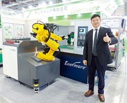 勤堃機械 打造全方位智慧工廠