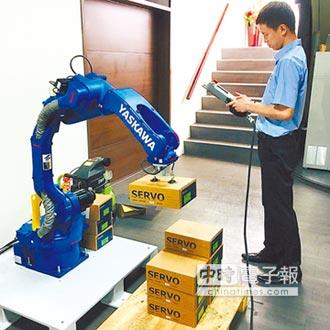 統嶺 引進日本安川機械手臂