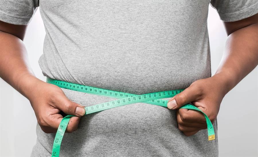 根據美國研究指出,肥胖可能與失智症有關。(圖/達志影像)