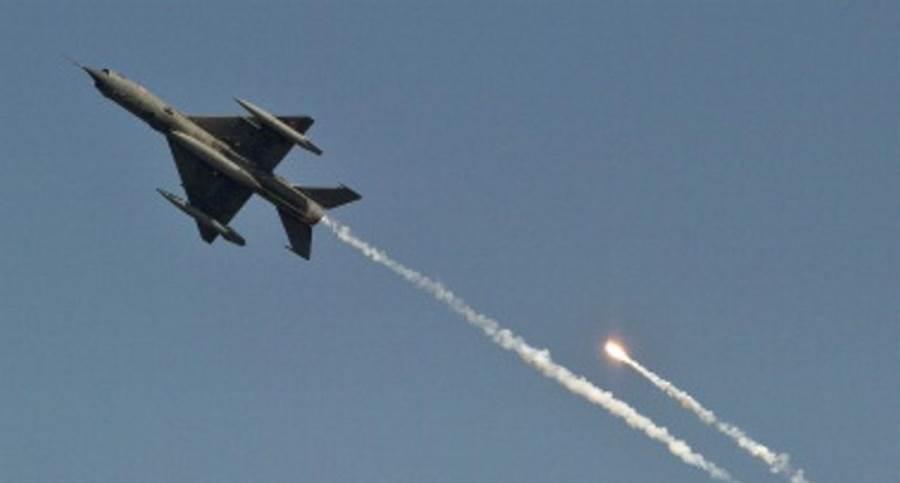 利比亞內戰,親政府的民兵部隊擊落利比亞國民軍的MiG-21。此為意示圖。(圖/網路)