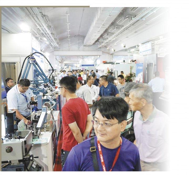 台南機械展 人潮破紀錄    圖文/陳惠珍