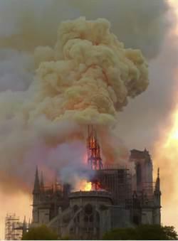 图辑》心痛!巴黎圣母院惨遭祝融景象一览