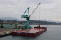耗資7億 離岸風電駁船「台船15號」完工