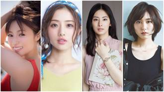 網友票選「平成十大美女演員」!新垣結衣竟然不是第一名