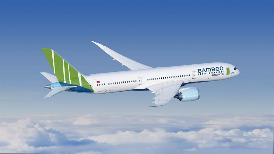 越竹航空訂購了40架長程線的B787-9夢幻客機。圖:業者提供