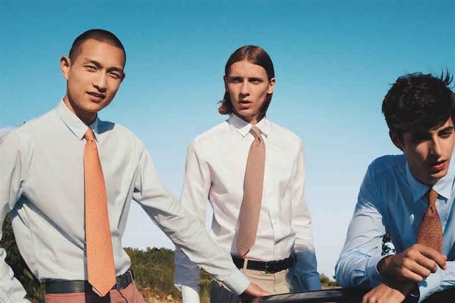 愛馬仕的第一條領帶是為賭場男性設計。(愛馬仕提供)