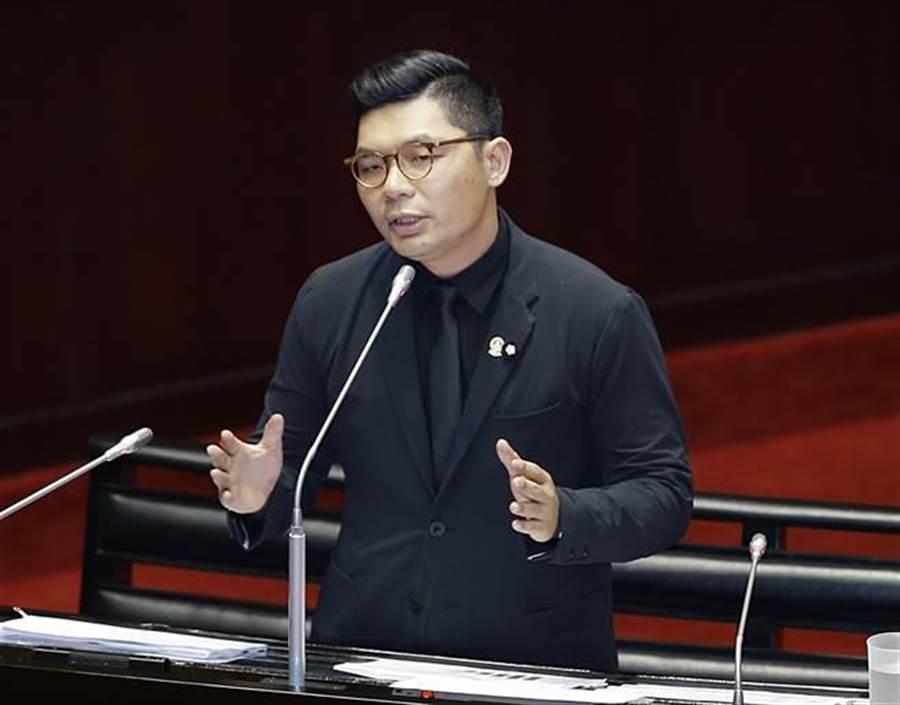 国民党立委许毓仁。(资料照,姚志平摄)
