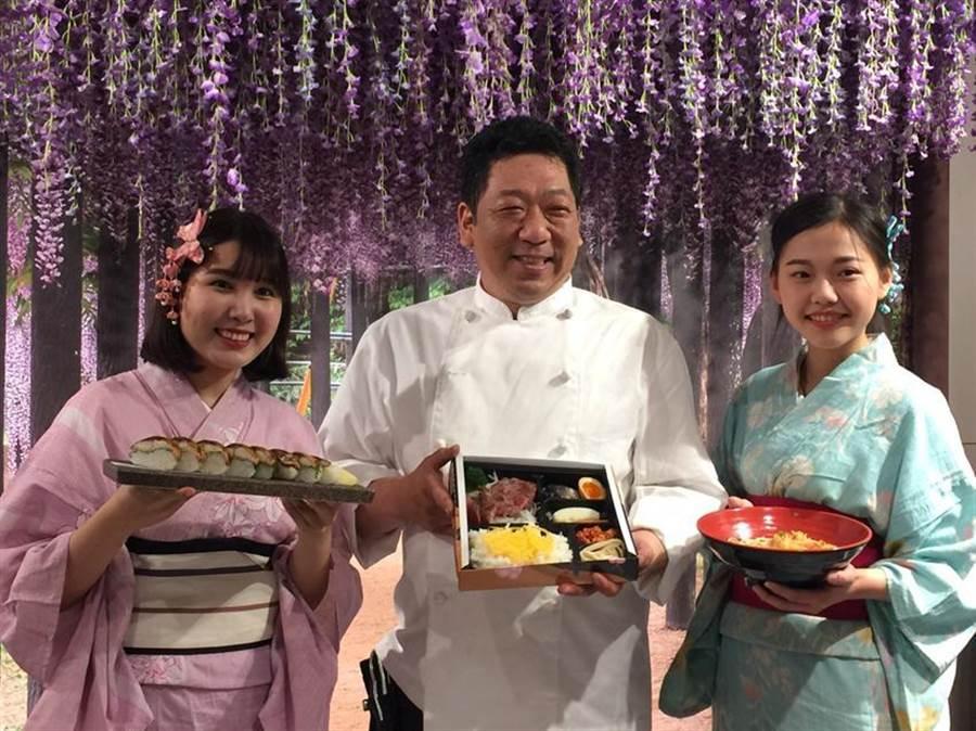 (圖:台中新光三越「日本美食物產展」,自即日起至5/2於10樓天空劇場盛大登場。圖:曾麗芳)
