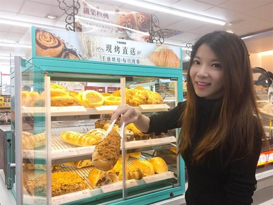 (7-ELEVEN宣布推出全新麵包新品,主打台灣、日本、丹麥、義大利4個國家的代表性麵包,以「金磚四國」之姿搶市!圖:業者提供)