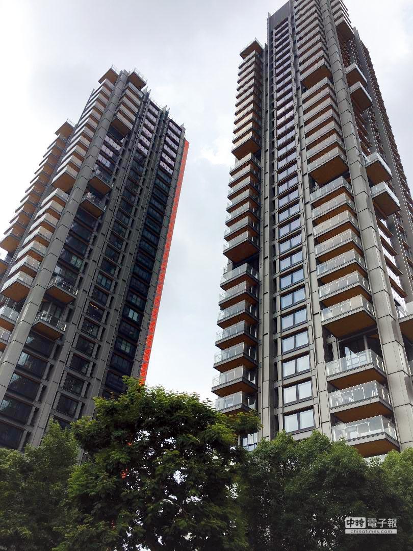 「One Park Taipei元利信義聯勤」拿下「建築界奧斯卡」「最佳高層建築傑出獎」。圖/蔡惠芳