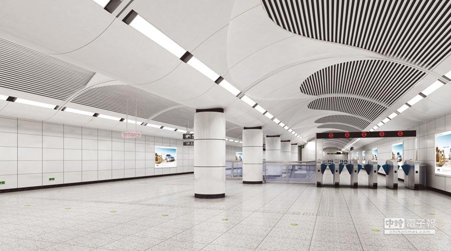 崇佑所取得的北京地鐵站工程建案。圖/業者提供