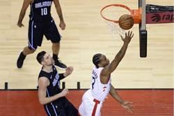 NBA》暴龍大勝魔術 林書豪4分1助攻