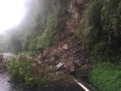 五峰南清公路再傳坍方 封閉搶通中