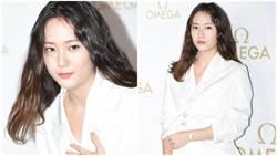Krystal鄭秀晶「壯碩身形」出席活動!網驚:哪來的大嬸