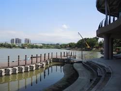 龍潭大池水位低 龍舟賽來了怎解?