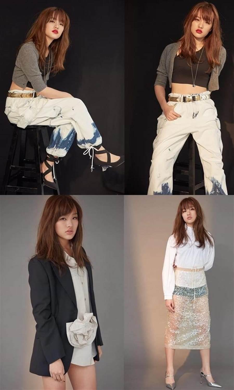 韓冰最近接受《VOGUE》專訪時,拍了很多性感漂亮照片。(圖/韓冰FB)