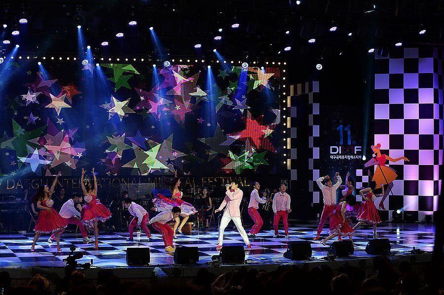 第12屆大邱國際音樂劇節DIMF開幕活動。(廣藝基金會提供)