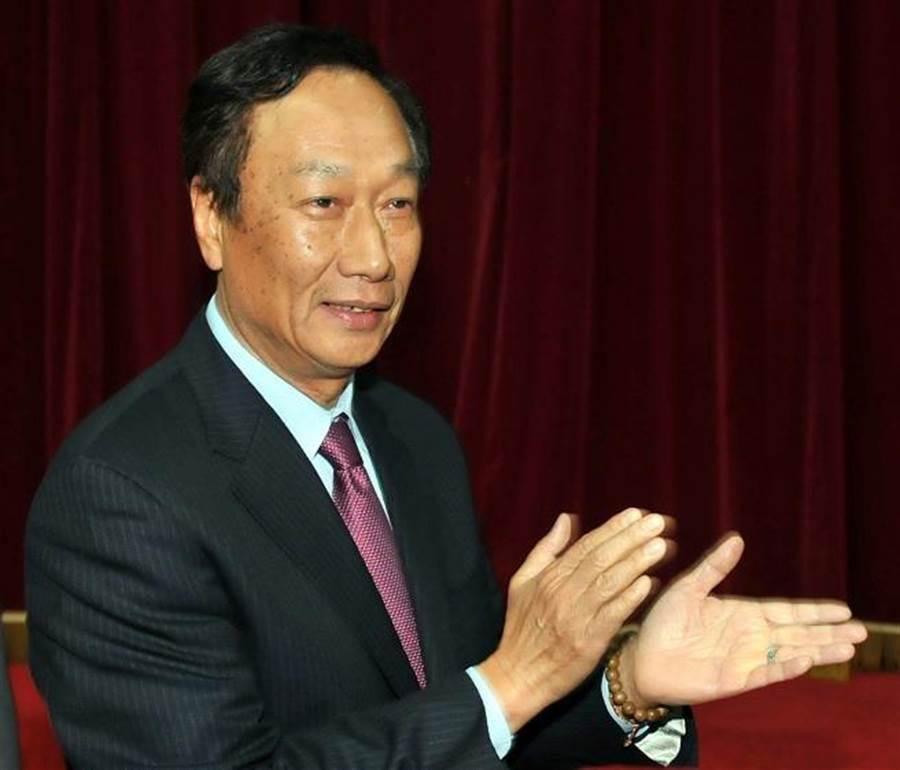 鴻海集團董事長郭台銘。(圖/本報資料照)