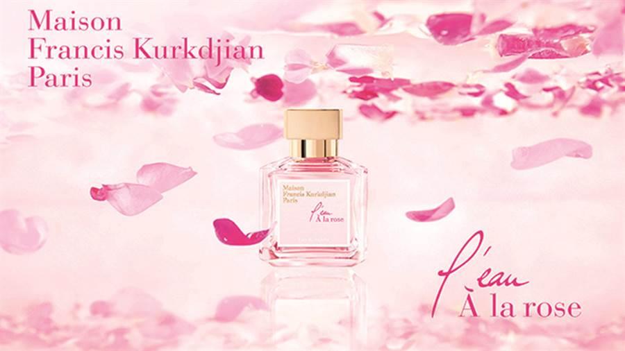 法國精品香水品牌MFK推出亞洲限定版「玫瑰之水」。(圖/品牌提供)