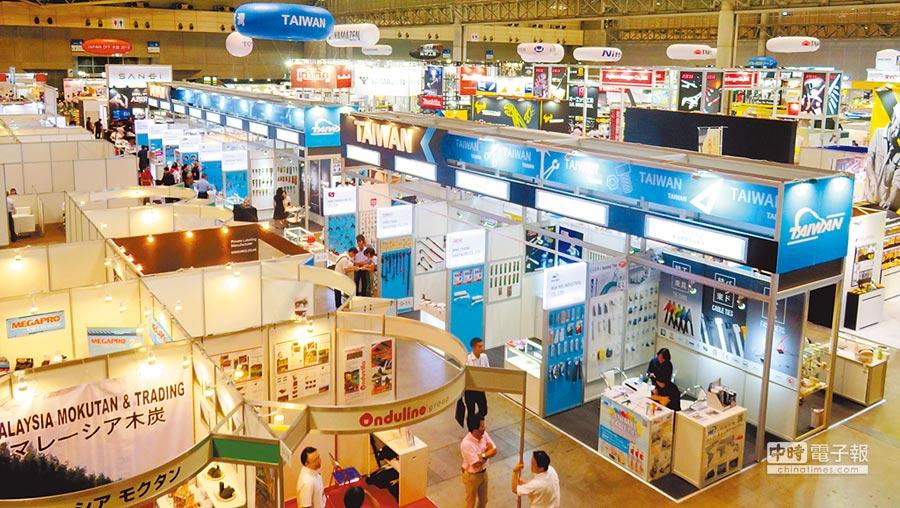 強攻日本蓬勃的DIY市場,2018年日本DIY展規劃臺灣館。圖╱外貿協會提供