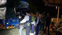 攔查開車用手機  意外逮9逃逸移工
