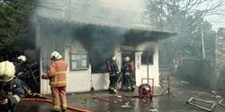 新北八里疑瓦斯氣爆 1社區警衛燒成焦屍