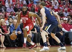 NBA》這是季後賽?哈登大三元轟翻爵士