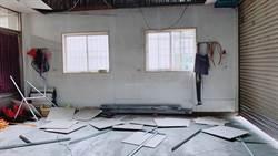 花蓮震央天花板掉一半 居民:沒遇過這麼大