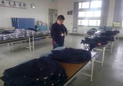 舊式制服怎麼辦? 玉井警分局貼心贈義警民防