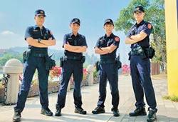 警察換新裝 執勤更帶勁