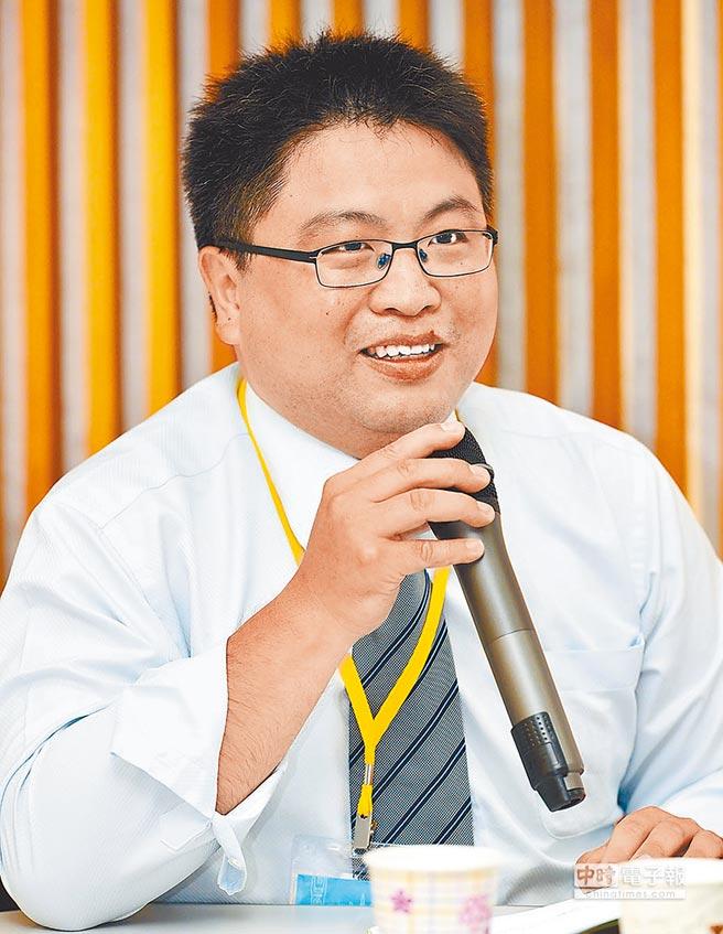 前遠景基金會副執行長林廷輝。(本報系資料照片)