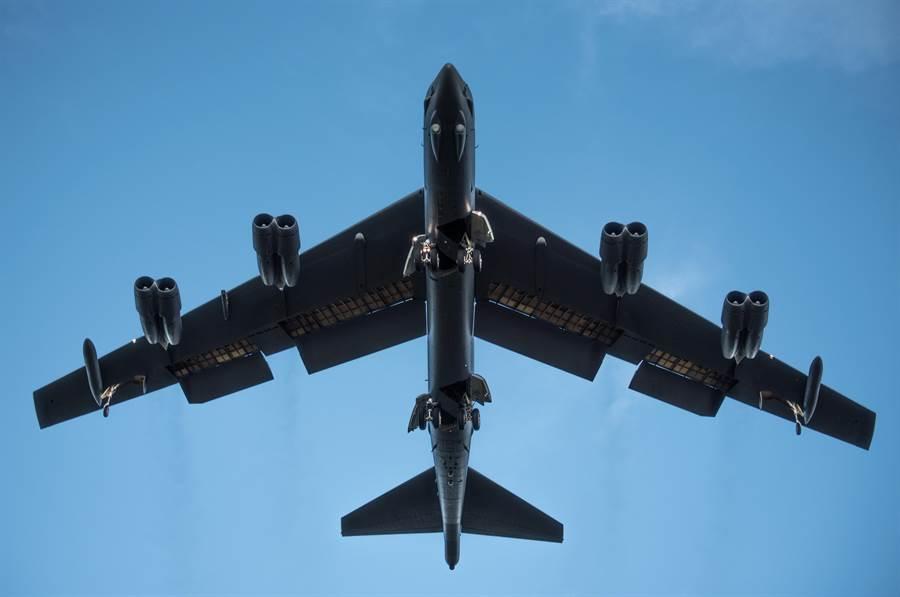 美國B-52H轟炸機的資料照。(美國空軍)