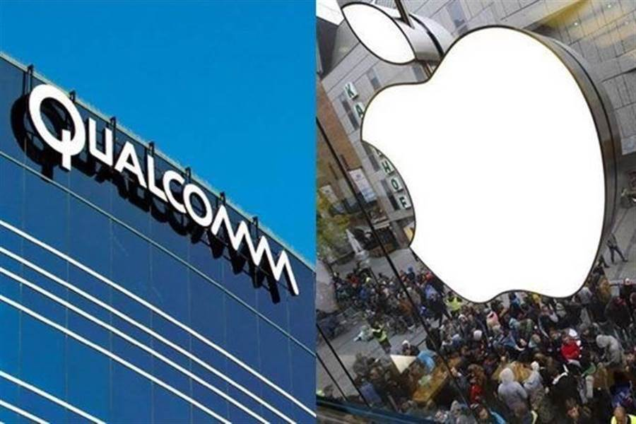 高通與蘋果專利權之爭上演世紀大和解戲碼。(美聯社)