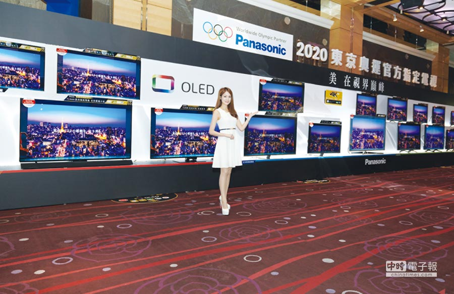 Panasonic以獨家6原色顯像技術及HCX影像晶片,成為2020東京奧運指定電視。圖/業者提供
