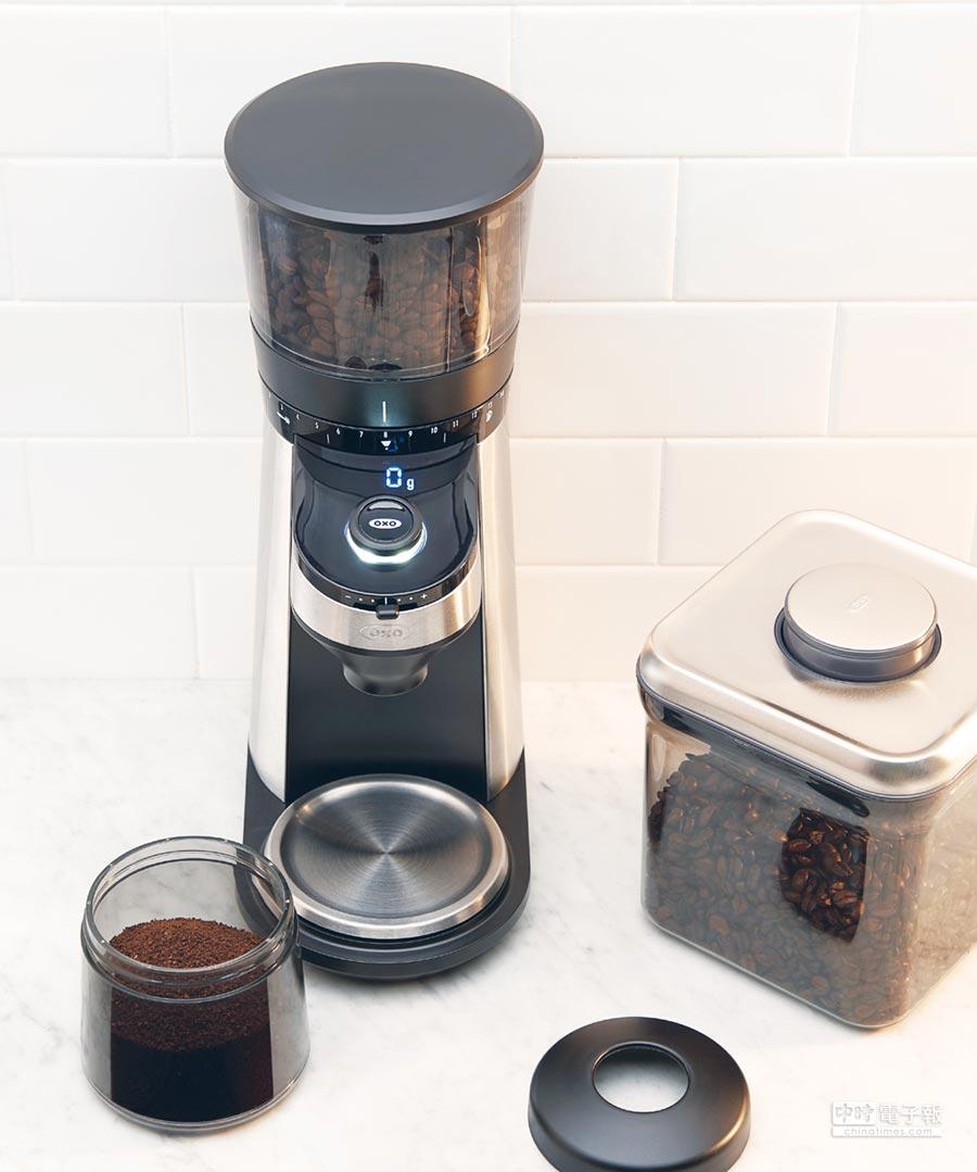 紐約風尚品牌OXO推出全新智慧咖啡用具。圖/業者提供