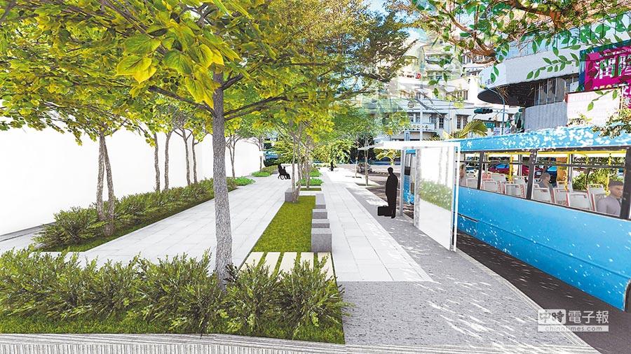 前瞻補助城鄉風貌,彰化縣政府爭取中央補助,將以3.5億元打造彰化市人本街區。(吳敏菁翻攝)