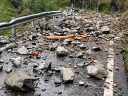 影》花蓮強震巨石猛砸 公路總局澄清非中橫便道