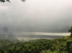 颮線接近 雲林昏天暗地