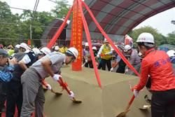竹南第二座普覺堂動工 預計後年5月竣工