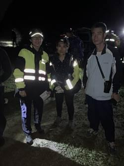 泰國女遊客深夜誤闖半屏山  暖警消急救援
