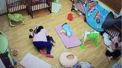 內湖某托嬰中心虐童案 保母下跪道歉