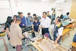 鄭州商貿管理學院訪大成商工