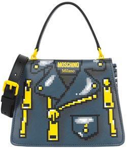 Moschino玩低像素設計