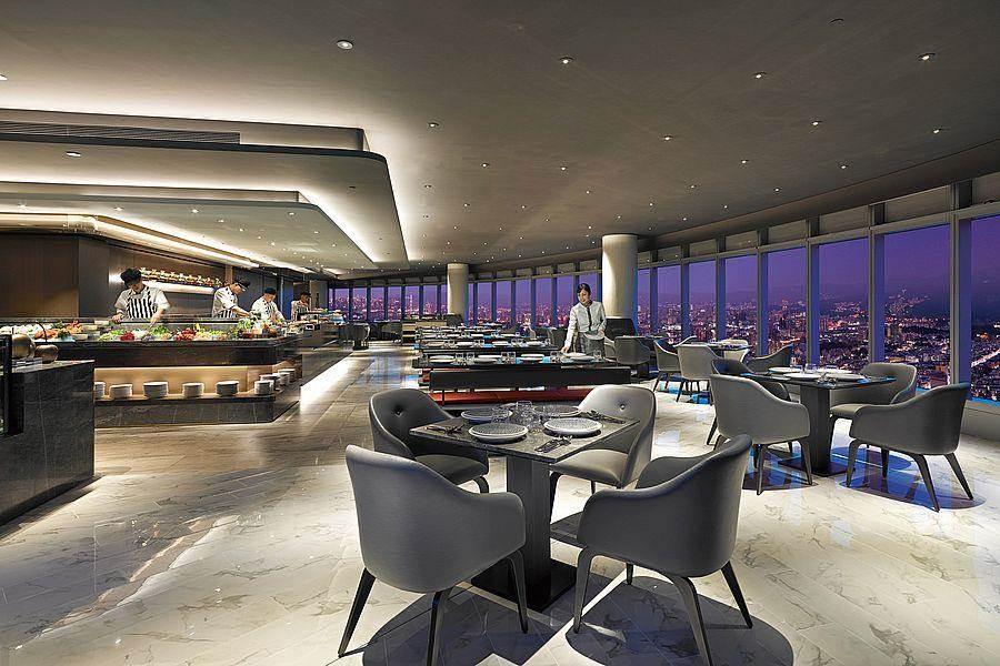 50樓Cafe-全國最高自助餐廳。(Mega 50提供)