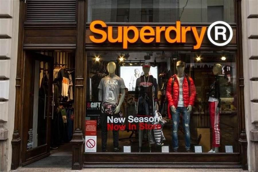 Superdry是英國知名潮牌。(達志影像/shutterstock提供)