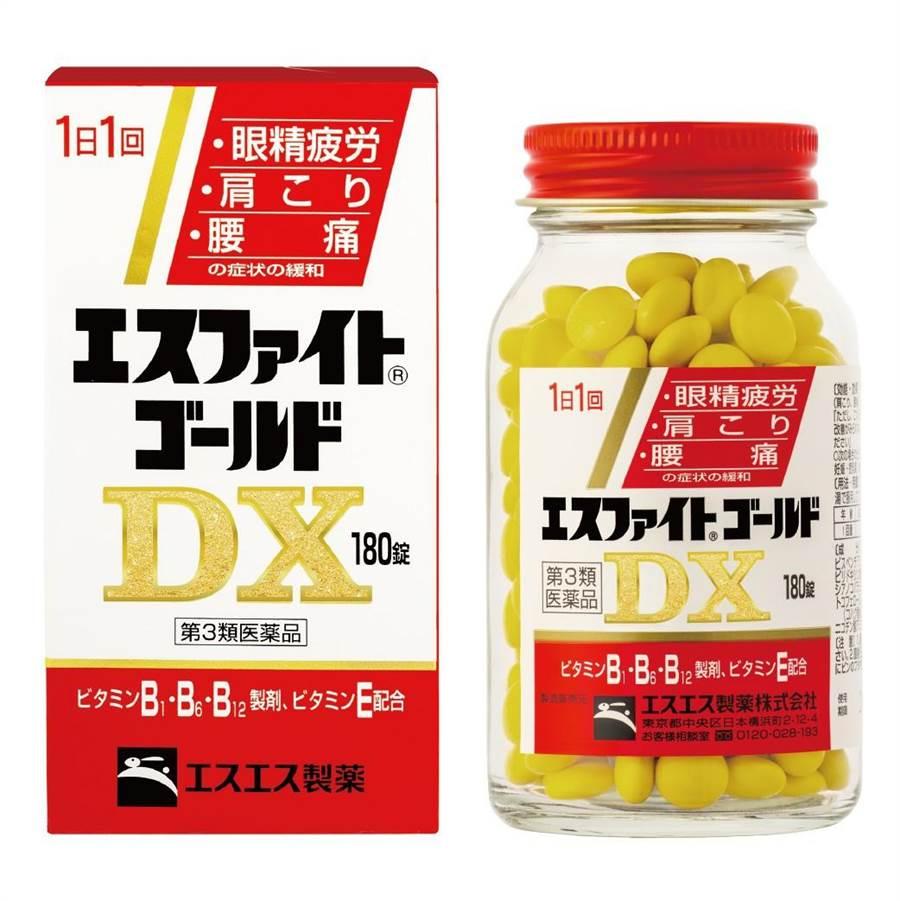 「愛斯飛特糖衣錠ESFIGHT® GOLD DX」為日本製造、原裝進口