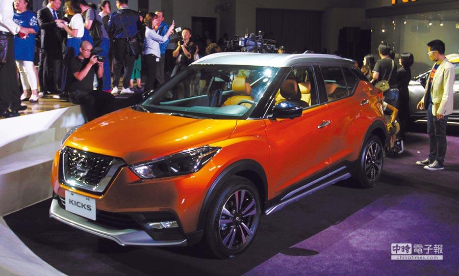 第一季過去,有些表現不錯的國產車款,好比Nissan Kicks撐住了國產車市場表現。圖/陳慶琪